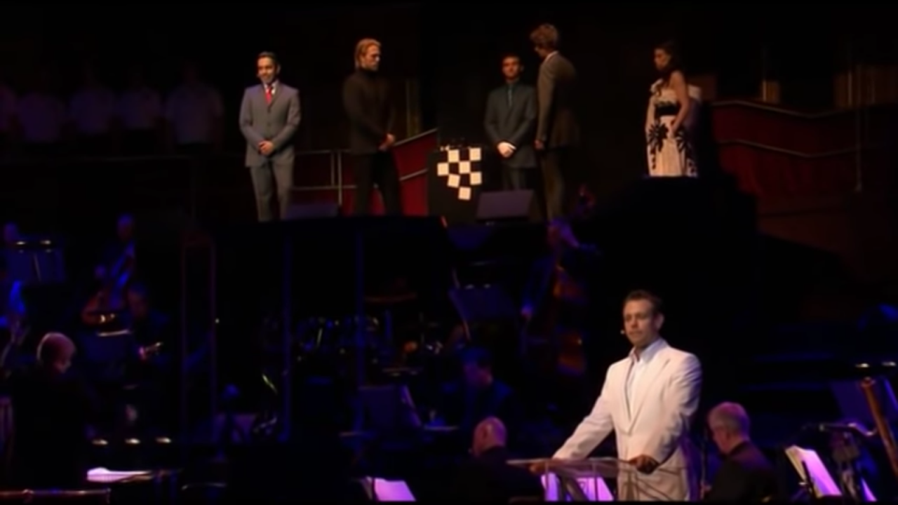 Still from Chess in Concert (2009)